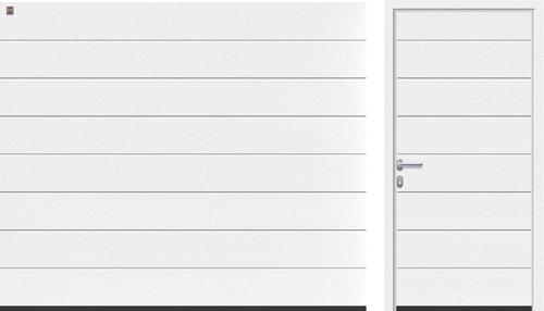 M-гофр (LPU, LTE), белого цвета RAL 9016