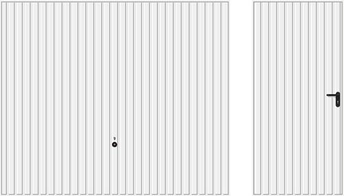 Мотив 902, белого цвета RAL 9016