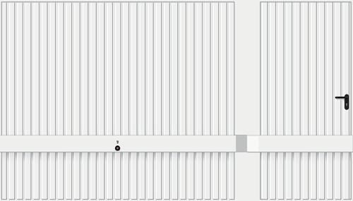 Мотив 941, белого цвета RAL 9016