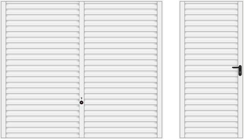 Мотив 957, белого цвета RAL 9016