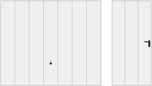 Мотив 984, белого цвета RAL 9016
