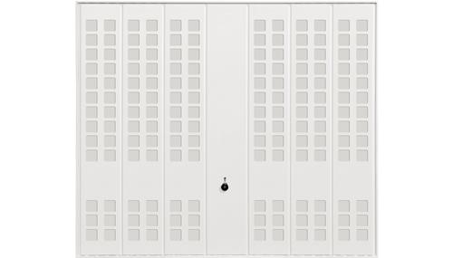 Мотив 988, белого цвета RAL 9016